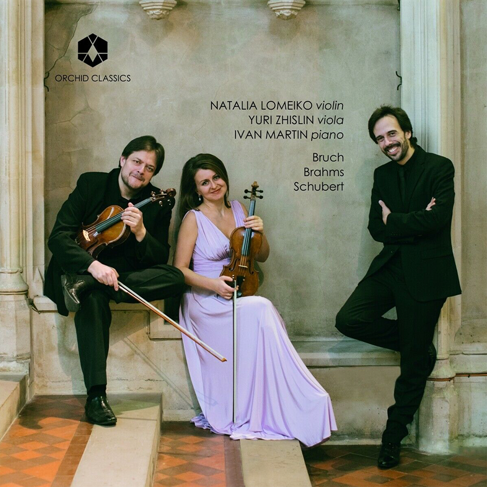 Natalia Lomeiko CD Bruch, Brahms and Schubert