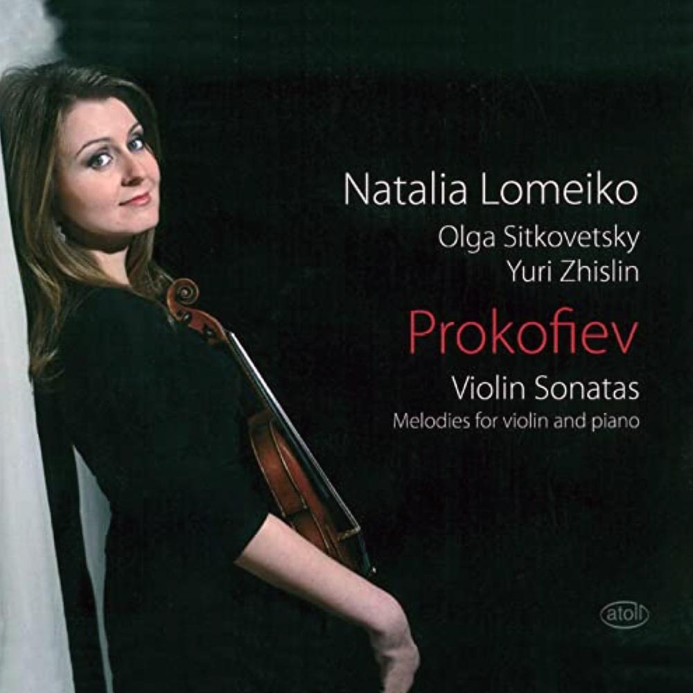 Natalia Lomeiko Prokofiev CD